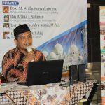 """Pelatihan DKM dengan Tema """"Menjadikan Masjid Sebagai Pusat Peradaban Islam"""""""