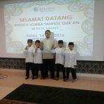 Santri Darul Marhamah lil Aytam Mengikuti Lomba Tahfidz Qur'an