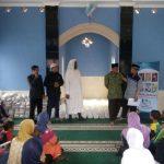 Tebar Bantuan Pangan dari Syeikh Hasan