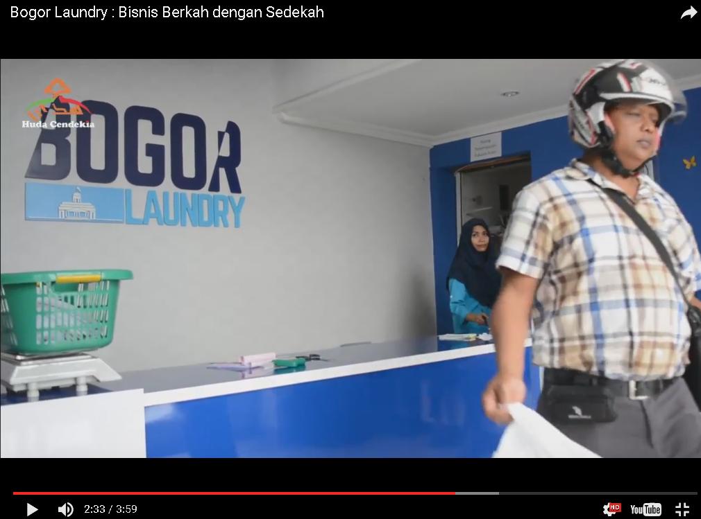 Bogor Laundry Bisnis Berkah dengan sedekah