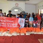 Pembagian Sembako kepada 35 Santri Cibeber Bogor