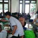 Puluhan Peserta Ikuti Baksos Bekam Masal Huda Cendekia