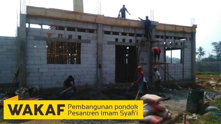 Proses Pembangunan Mahad Imam syafi'i